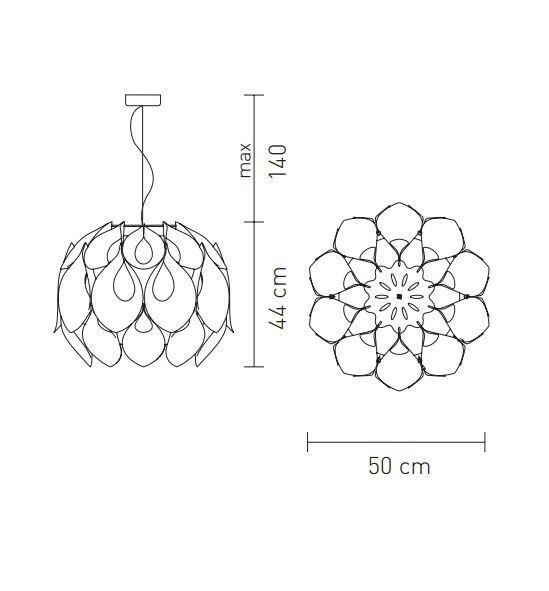 flora-lampadario-sospensione-slamp